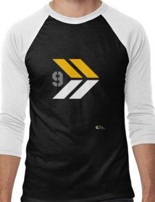 Arrows 1 - Yellow/Grey/White Men's Baseball ¾ T-Shirt