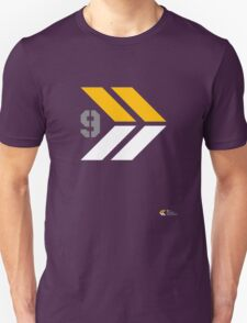 Arrows 1 - Yellow/Grey/White T-Shirt