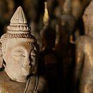The Smiling Buddha by Nicole Shea