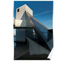 The Rock and Roll Hall of Fame from a slightly different perspective Poster