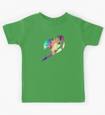 Galaxy Fairy Tail Logo Kids Tee