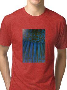 Tusk Fish up close Tri-blend T-Shirt