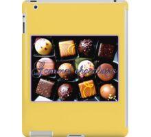 Gourmet Chocolates iPad Case/Skin