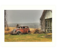 Country Cruiser Art Print