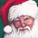 Santa's Wink by Charlotte Yealey