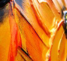 Orange Flower Petals by ihklektik
