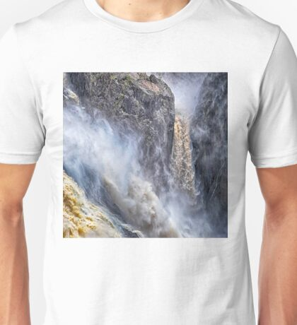 Magnificent falling water Unisex T-Shirt