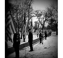 Patriot Guard  Photographic Print