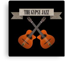 The Gypsy Jazz Canvas Print