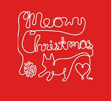 Meowy Christmas - Yarn Cat Love Unisex T-Shirt