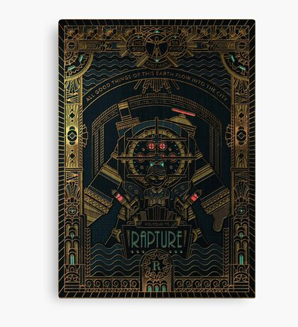 BioShock: Rapture Canvas Print