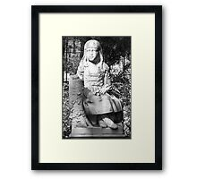 Little Gracie  Framed Print