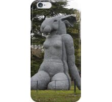 Anthony Gormley at Yorkshire Sculpture Park iPhone Case/Skin