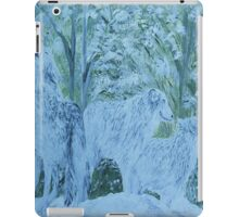 Snow Wolves iPad Case/Skin