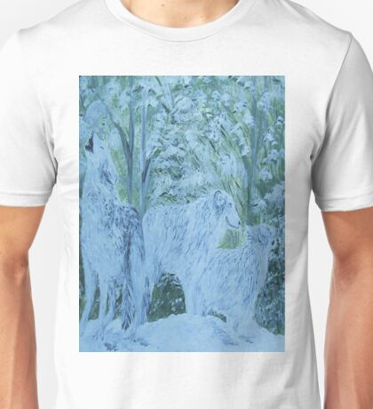 Snow Wolves Unisex T-Shirt