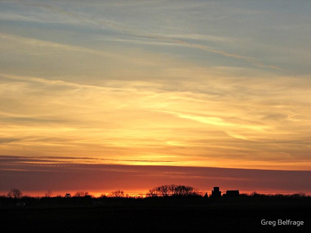Prairie Glow by Greg Belfrage
