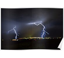 Storm Over Geelong November 30 2012 Poster