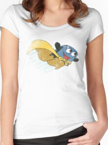 Brave Little Toaster - Fly Away Shirt Women's Fitted Scoop T-Shirt