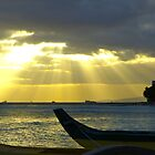 Waikiki - Sunset by hanforddennis