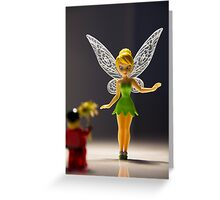Tinkerbell...will you marry me? Greeting Card