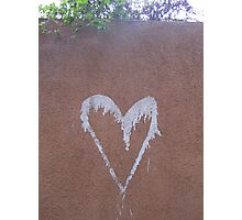 A Loving Wall Photographic Print