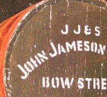 Whiskey artwork, Jameson Whiskey, Irish whiskey barrel by the cheeky pixel Sticker