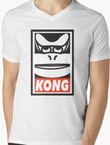 KONG Mens V-Neck T-Shirt