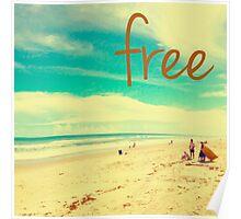 free V Poster
