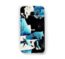 Blue Guests Samsung Galaxy Case/Skin