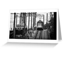 light railway Greeting Card