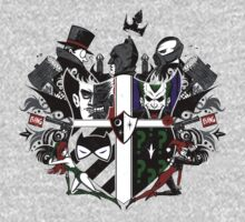 Criminal Coat of Arms- White Kids Clothes