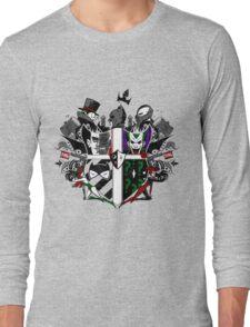 Criminal Coat of Arms- White Long Sleeve T-Shirt