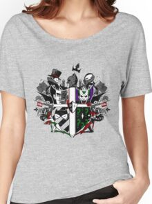 Criminal Coat of Arms- White Women's Relaxed Fit T-Shirt