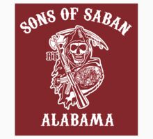 Sons of Saban Alabama sticker  by Tardis53