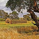 Barn and Bale in Hindmarsh Vale by TonyCrehan