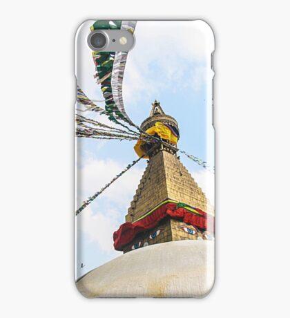 Boudhanath Stupa iPhone Case/Skin