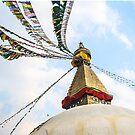 Boudhanath Stupa by Nicole Shea