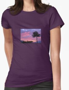 Purple and Pink Sunset Over Akyaka Sakartepe  T-Shirt
