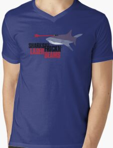 Sharks with frickn laser beams Mens V-Neck T-Shirt
