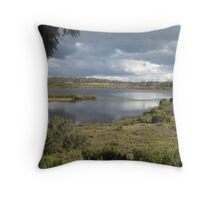 Silver Lake Central Plateau - photo Sue Throw Pillow
