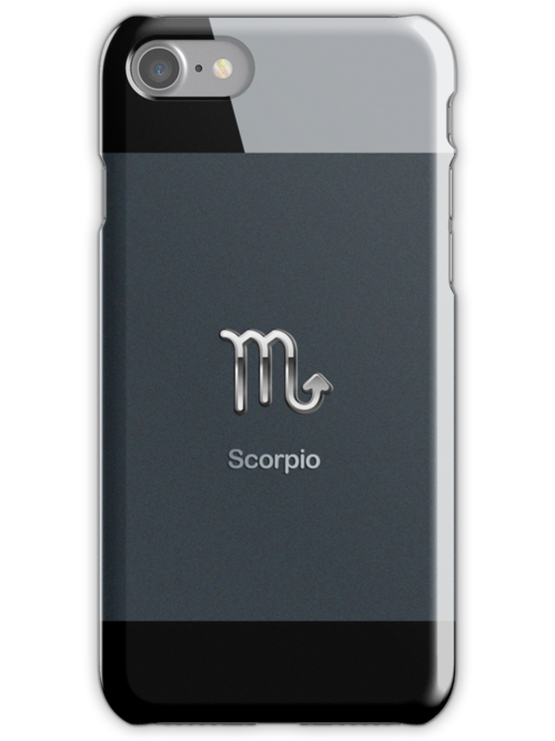 Apple Smart Phone Style with Astrology Scorpio Sign | by scottorz