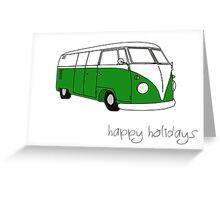 Kombi Xmas - Happy Holidays Greeting Card