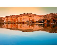 dreams reflection of river Photographic Print