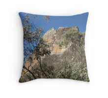 Breadknife Warrumbungles NSW - photo Sue Throw Pillow