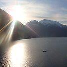 Alaskan sunrise by baglesscat