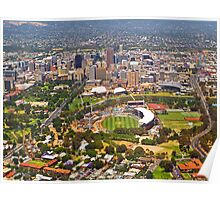 Adelaide from the Air Poster