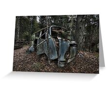 VW Graveyard 01 Greeting Card