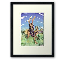 The StoryTeller Framed Print