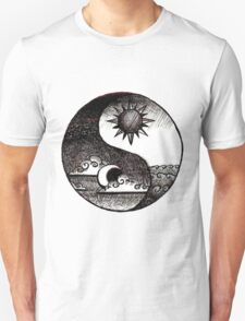 Ying and Yang - Night and Day T-Shirt
