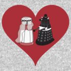 Dalek Wedding by Silfrvarg
